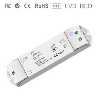 Constant voltage led dimming Controller V1-L DC12V-24V 1CH*15A Push Dim dimmer for single color 5050 3528 SMD led strip light - DISCOUNT ITEM  27% OFF All Category