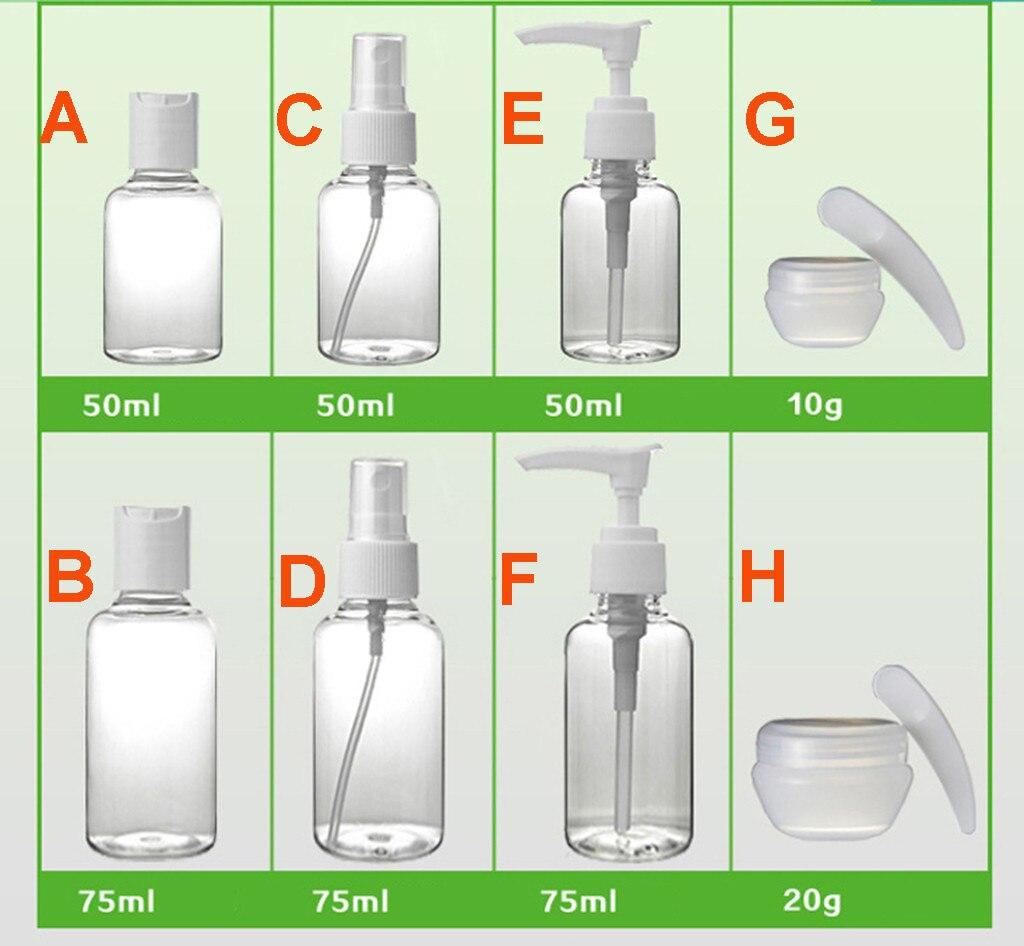 Antibacterial Transparent  Soap Foam Bottle Jar PET Travel Clear Squeezed Dispenser Foaming Pump Dispenser Cream Lotion Liquid