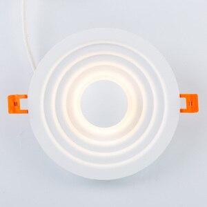 Image 5 - Zerouno Moderne Led Licht Lamp Speciale Techniek Verlichting Lamp 6W 12W Verzonken Dunne Hoge Lumen Home Tentoonstelling Mall verlichting