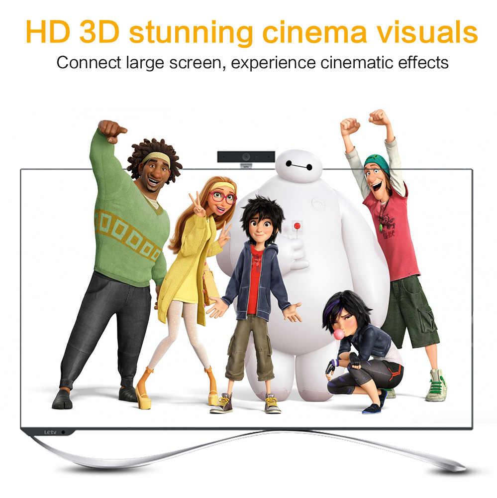 Cable de Micro HDMI a HDMI 1M 2m 3m 5m 3D 4K macho-macho de gran calidad adaptador HDMI chapado en oro para Tablet HDTV Cámara PC