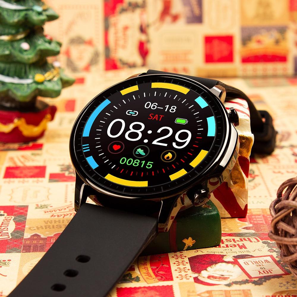H640630a7db754e22a36adb8b6a6dd4f1L COLMI V23 Women Smart Watch Full Touch Fitness Tracker IP67 Waterproof Blood Pressure Smart Clock Men Smartwatch