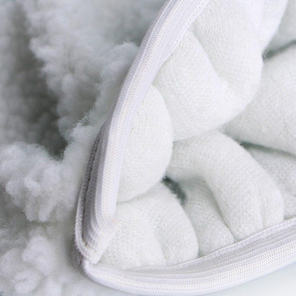 pacote de 30 carro polisher almofada bonnet 01