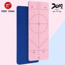 PIDO YOGA TPE Yoga mat 183*61cm Wide Thicken Non-slip Fitness Mat Beginner Pilates mat high quality widen tpe camouflage yoga mat yoga mat eco friendly custom yoga mat tpe