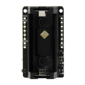 Image 3 - LILYGO®TTGO T OI ESP8266 Chip recargable 16340 soporte de batería y T OI WS2812 RGB placa de expansión