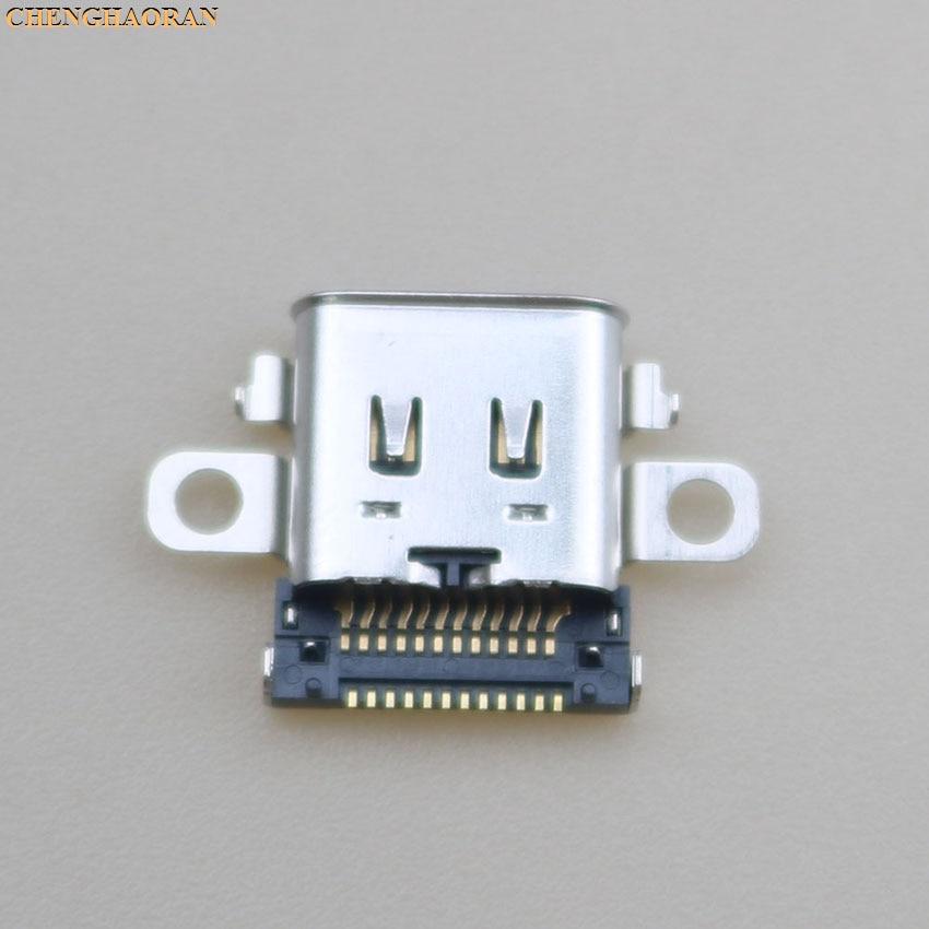 Image 5 - ChengHaoRan 2pcs 5pcs 10pcs Original New USB Type C Charging Socket Port Power Connector for Nintend NS Switch ConsoleReplacement Parts & Accessories   -