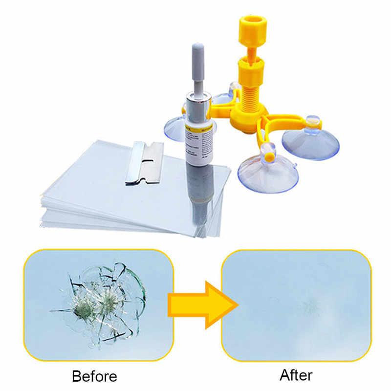 Набор для Ремонта Лобового Стекла и окон, инструмент для восстановления трещин и трещин