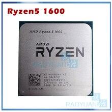 AMD procesador de CPU AMD Ryzen 5 1600 R5 1600 R5 PRO 1600 3,2 GHz, seis núcleos, 12 hilos, 65W, YD1600BBM6IAE YD160BBBM6IAE Socket AM4