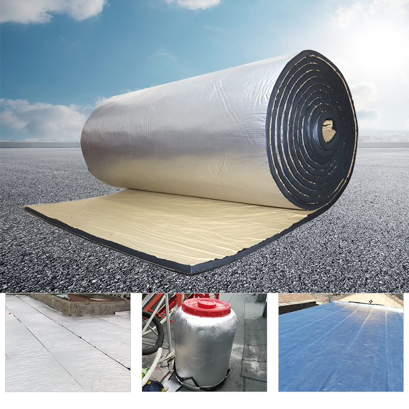 200cmx50cm 5mm/10mm/20mm/30mm Car Truck Firewall Heat Sound Deadener Noise Insulation MatCar Heat Sound Thermal Proof Pad