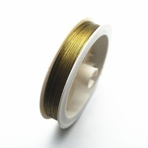 30 м/рулон 0,3/0,35/0,45/0,5/0,6 мм из нержавеющей стали Tiger Tail бисерная проволока DIY Изготовление, поиск ювелирных изделий HK028