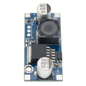 Image 5 - 100 stücke LM2596HVS LM2596 HV LM2596HV DC DC Einstellbare Step Down Buck Converter Power Module 4,5 50V Zu 3 35V Urrent einschränkung