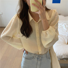 Embroidery Lace Spring femme Shirt Casual white Tops Girls B