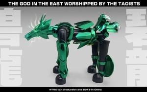 Image 3 - COMIC CLUB INSTOCK GreatToys Great toys EX bronze Saint dragon Shiryu V1 metal armor Myth Cloth Action Figure