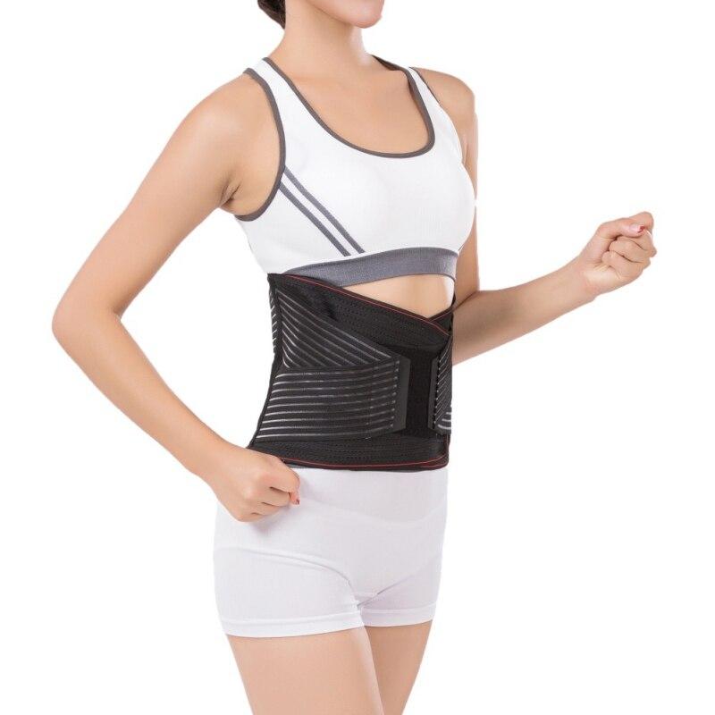 Magnétique auto-chauffant taille orthèse en acier os barre taille ceinture hommes femmes soutien lombaire dos orthèse ceinture thérapie ceinture nouveau