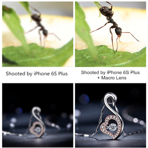 Image 5 - 4K HD Macro Lens No Distortion 105mm No Vignetting 15X Jewelry Detail Shot SLR Phone Camera Macro Lenses for Most of Smartphones