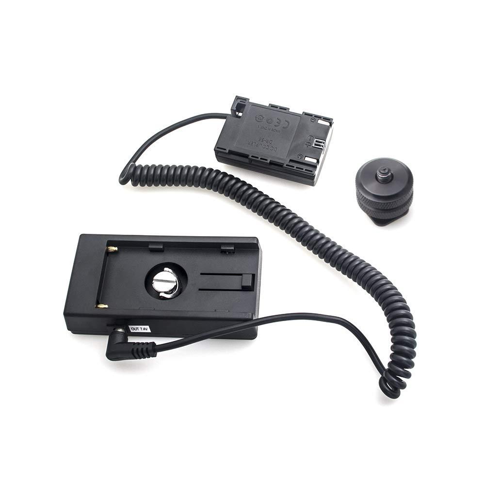 NP-F970-LP-E6 адаптер для батареи для Canon 7D 6D 5D II III IV 60D 70D 80D