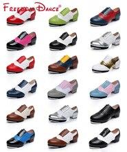 כישוף צבע חריטה חלול נשים גברים אמיתי עור שרוכים ברז ריקוד נעלי בציר איכות פיצול סוליות סטפס נעליים