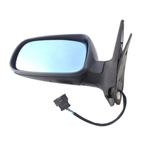 Heated Electric Mirror Assembly Left Passenger Side for VW Golf 4 Mk4 Bora 1999 2005