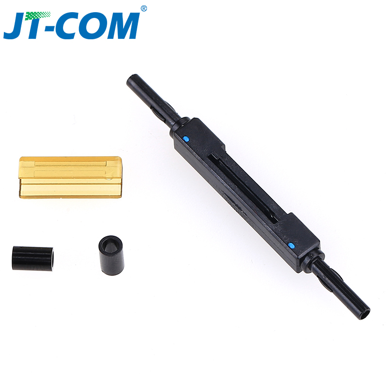 Free shipping ?L925B Fiber Optic Fast Connector Optical quick connector Optical Fiber Mechanical Splice for Drop Cable