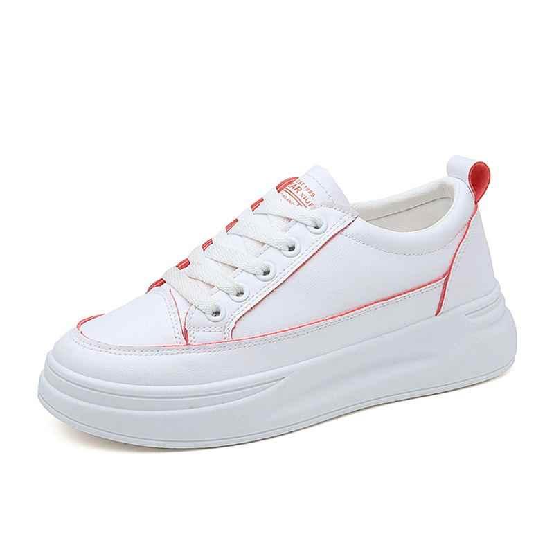 Yeni tasarım ayakkabı Kadın takozlar nefes dantel platformu sneakers Bayan Tenis Rahat kalın ayakkabı bayanlar Ayakkabı Kadın