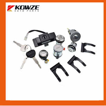 Lock Cylinder & Key Set For PAJERO MONTERO II 2nd 1990-2004 4G54 4G64 4M40 6G72 MR259744 MR259766 - DISCOUNT ITEM  45 OFF Automobiles & Motorcycles