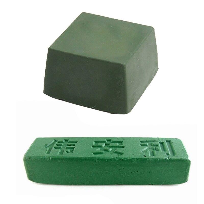 1Pcs Polishing Paste Green Fine Abrasive Polishing Paste Buffing Compound Metal Blade Grinding Use New Hot