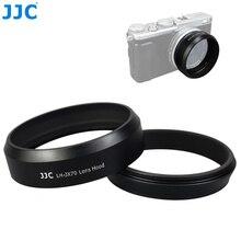 JJC Fotocamera Vite di Metallo Paraluce 49 millimetri Anello Adattatore Filtro Filo Tappo Per Fujifilm X100V X100F X70 Sostituisce Fujifilm LH X70