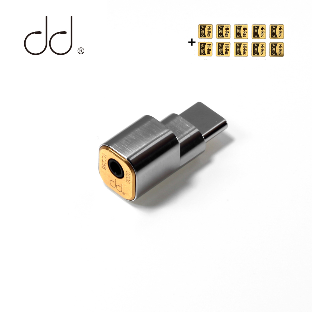 Для смартфонов на базе Android DD ddHiFi TC25B USB-C Тип с разъемами типа C и 2,5 мм разъем для наушников адаптер до 384 кГц/32bit