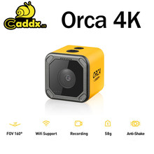 En Stock Caddx Orca 4K HD grabación Mini FPV Cámara FOV 160 grado WiFi Anti-Shake DVR cámara de acción para RC Racing Drone avión(China)