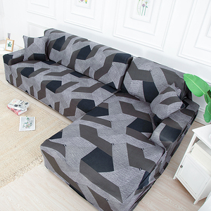 Geometric Elastic Sofa Covers for Living Room Universal All-inclusive Sectional Slipcovers Couch Cover Sofa Cover 1/2/3/4 seater(China)
