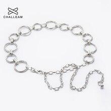 Золотое металлическое кольцо пояс Модная женская серебряная цепочка на талию Дамский сплав три кольца металлическая цепочка пояс для платья 174
