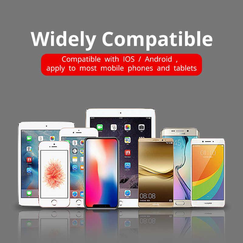2 en 1 Cable USB para IPhone XS Max X 8 7 6s mi cro USB 3.1A de carga rápida cable para Xiaomi mi 4 rojo mi 4X Huawei P20 Lite