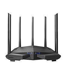 1200 Мбит/с гигабитный Wifi маршрутизатор беспроводной ретранслятор двухдиапазонный 2,4 ГГц + 5G 1WAN + 3lan гигабитные порты 5*6 dbi усиленная антенна ...