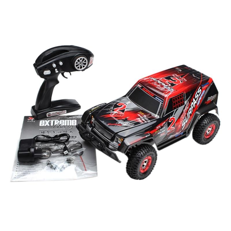 Hot-KW-C02 1:12 SUV 2.4G RC véhicule télécommandé véhicule de course à grande vitesse jouets tout-terrain et cadeaux pour les enfants