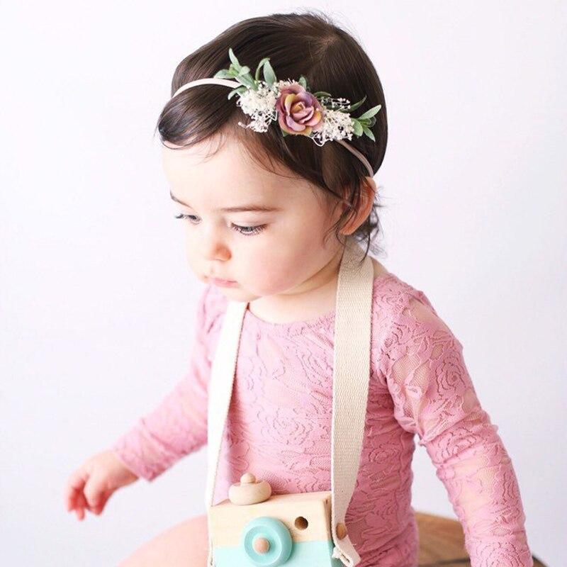nylon headbands flower headbands newborn photo prop Baby headbands bundle of headbands headbands gift set gift for baby girl