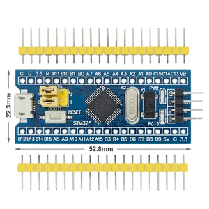 Image 2 - STM32F103C8T6 ARM STM32 تطوير نظام الحد الأدنى لوحة تركيبية لاردوينو ST Link V2 Stlink V2 Mini STM8 محاكي تحميل