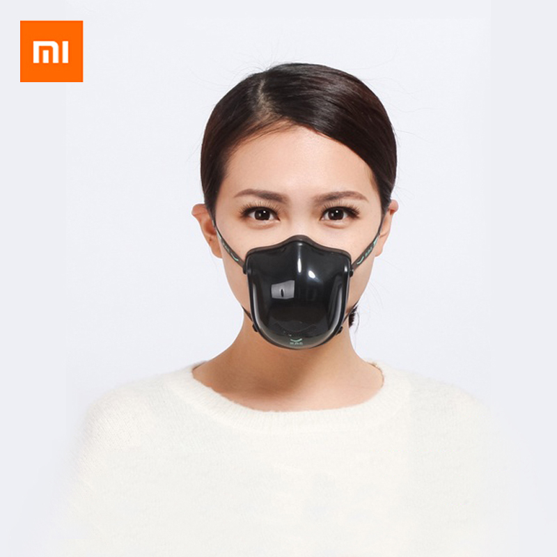 Xiaomi Mijia Youpin Q5PRO Electric Anti-haze Sterilizing Mask Provides Active Air Supply Electric Face KN95 Mask Electric Masks