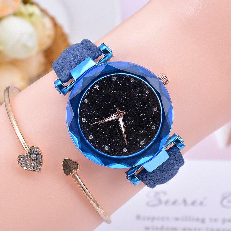 Blue no bracelet