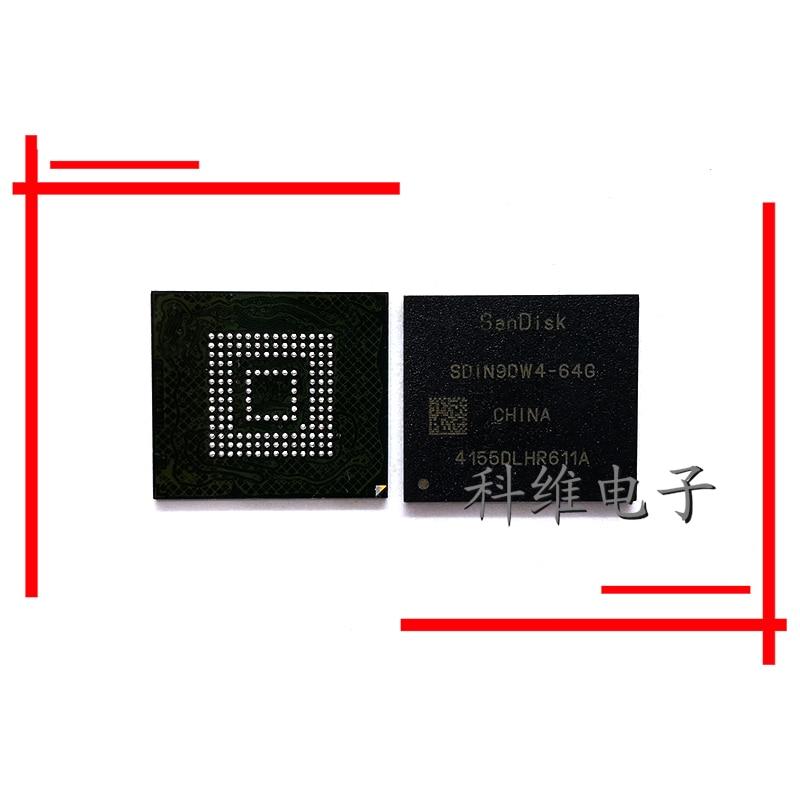 1pcs/lot SDIN9DW4 64G SDIN9DW5 64G 153 emmc ball character original IC|Cable Winder| |  - title=