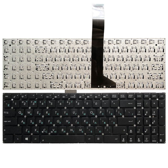 Russian Laptop Keyboard for ASUS F552CL F552E F552EA F552EP F552L F552LAV F552LD F552M F552MD F552MJ S501A S501U R510V RU Black