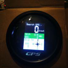 GPS-одометр 85 мм, регулируемый Вольтметр для поездок, с TFT экраном, для моторов, яхт, лодок, автомобилей, подвесной двигатель