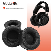 NullMini 필립스 Fidelio X2 X2HR X 2 X2 HR 헤드폰 소프트 가죽 이어폰 귀마개 용 이어 패드