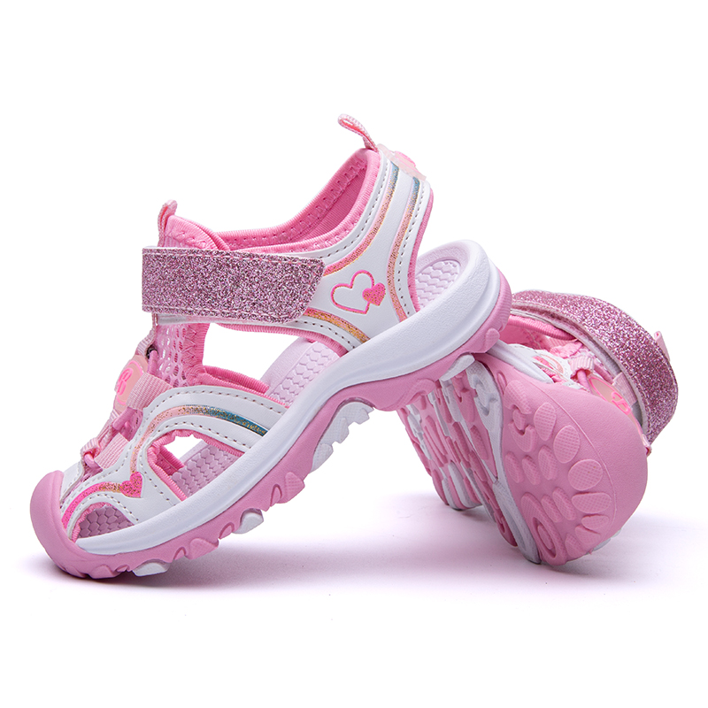 Summer Children Sandals For Girls,4-12 Years Kids Beach Shoes Fashion Toddlers Girl Sandalias EUR Size 26-37
