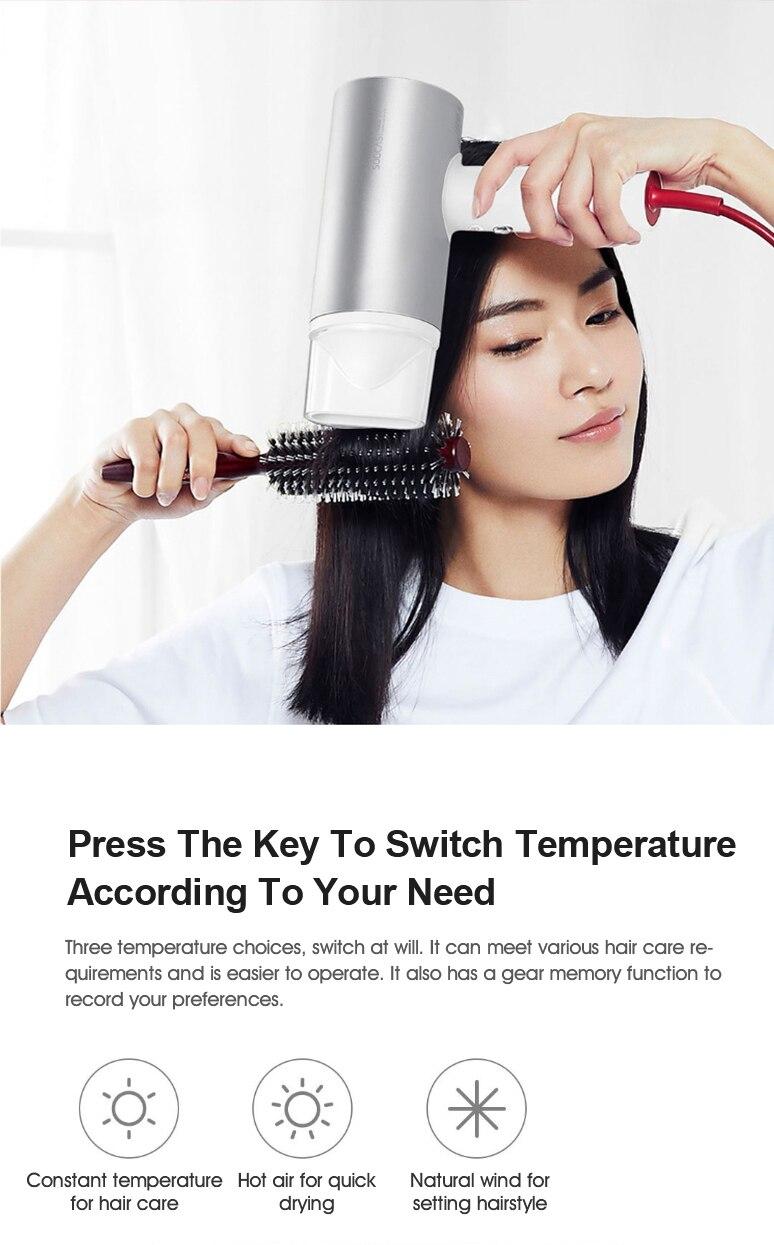 de cabelo liga alumínio poderoso elétrico plugue da ue