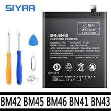 Batterie dorigine BM42 BM45 BM46 BN41 BN43 Pour Xiaomi Redmi Note 2 3 4 4X Hongmi Note2 Note3 Note4 Li ion Batteries De Remplacement