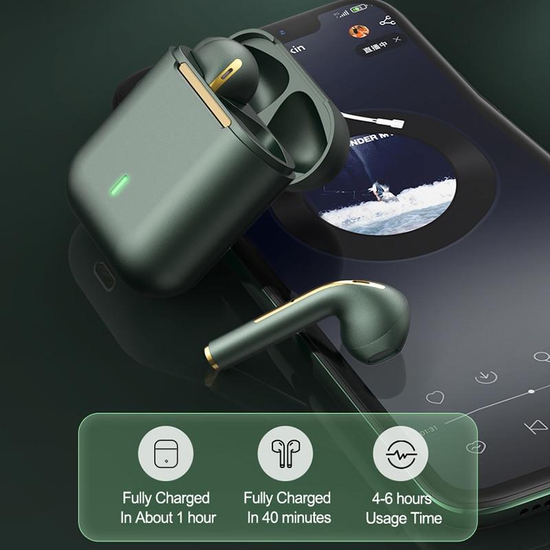 New TWS Bluetooth Headphones Stereo True Wireless Headphone Earbuds In Ear Handsfree Earphones Ear Buds For Mobile Phone 3