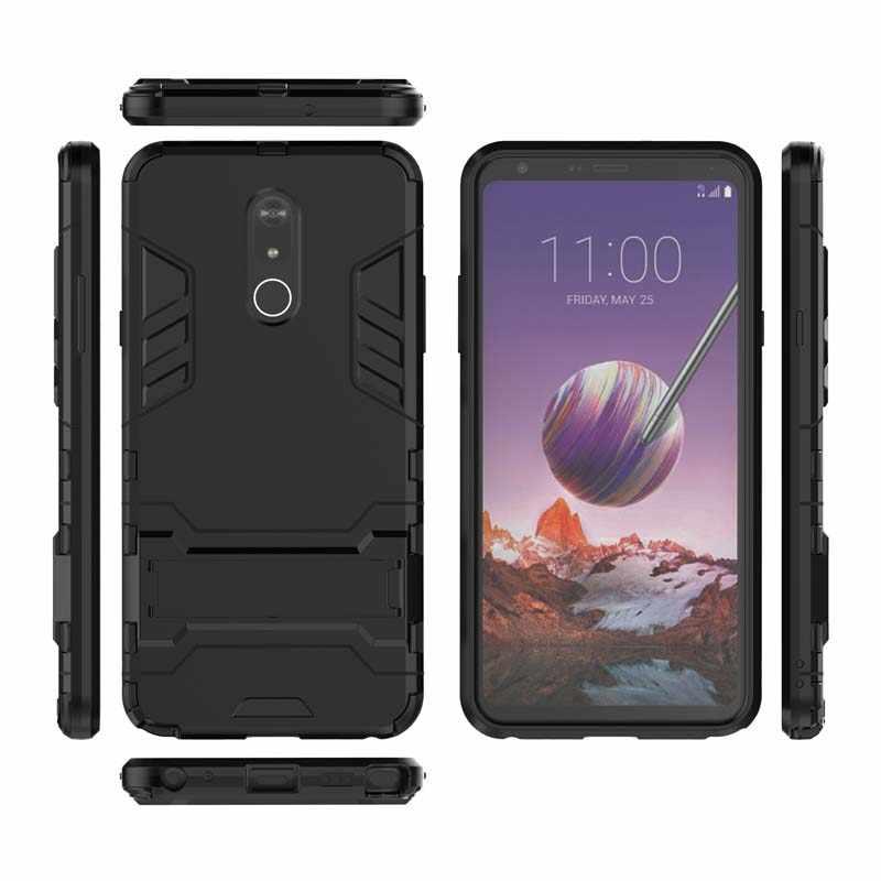 LG kılıfı V30 V30S V10 V20 Mini G6 G7 ince Q Q6 Q8 K10 K11 2018 Stylo 5 4 3 şok dayanıklı telefon kapak Coque