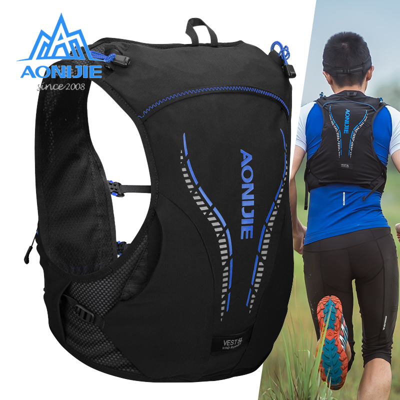 AONIJIE 5L Backpack Vest Hydration Sport Cross-County Running Riding Outdoor Bag