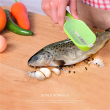 Multipurpose Home Kitchen Garden Cooking Tool Clean Convenient Scraping Scale Kill Fish with Knife Machine 4YANG цена 2017