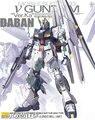 Японские фигурки аниме DABAN Gundam 1/100 мг Nu Ver.Ka RX-93, пластиковые модели, наборы игрушек с оборудованием