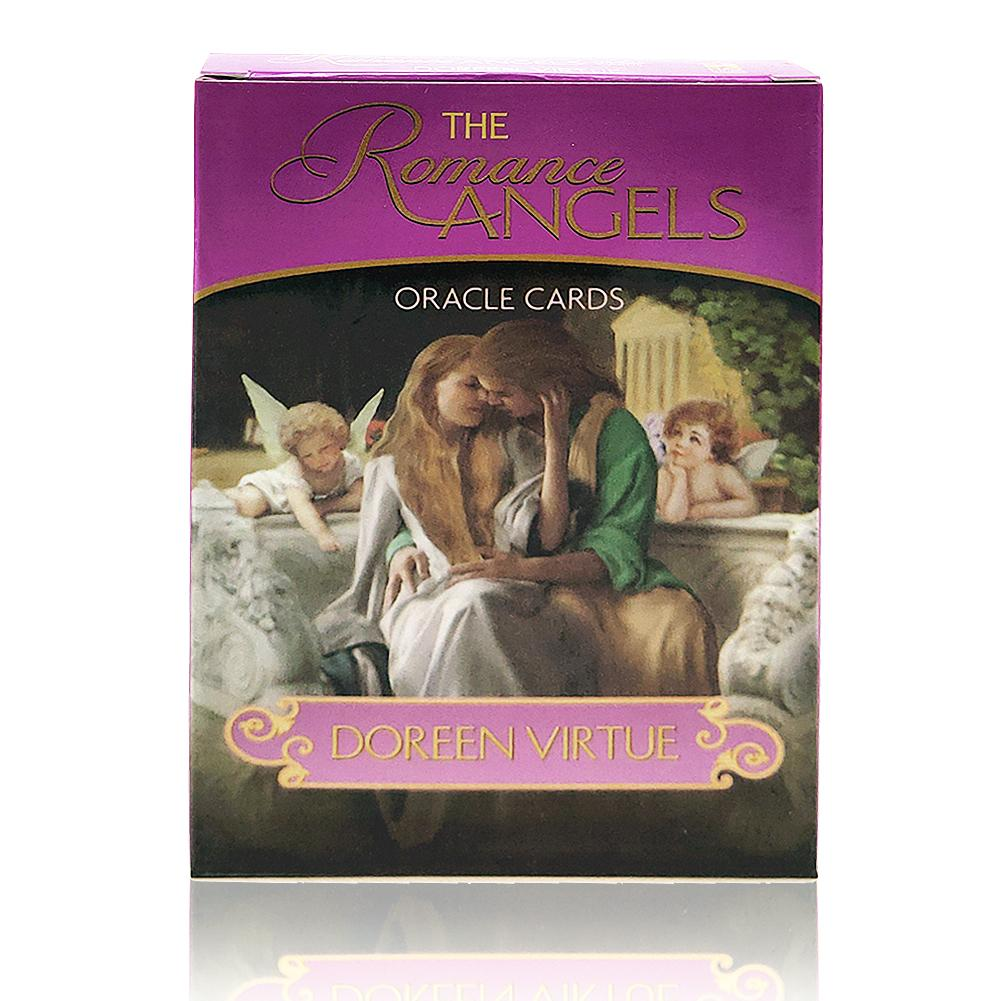Full English Romance Angels Oracle Cards Deck Mysterious Tarot Cards Guidance -divination Fate Fortune Card Game